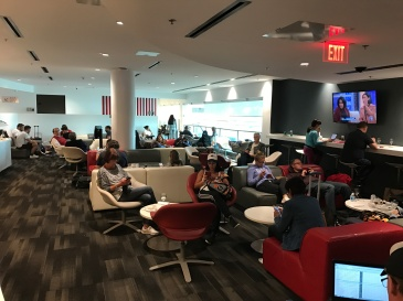 Avianca VIP lounge Miami International.