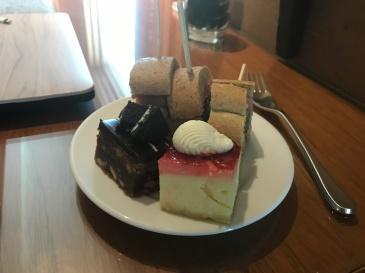 Conrad Bangkok Executive Lounge afternoon tea.
